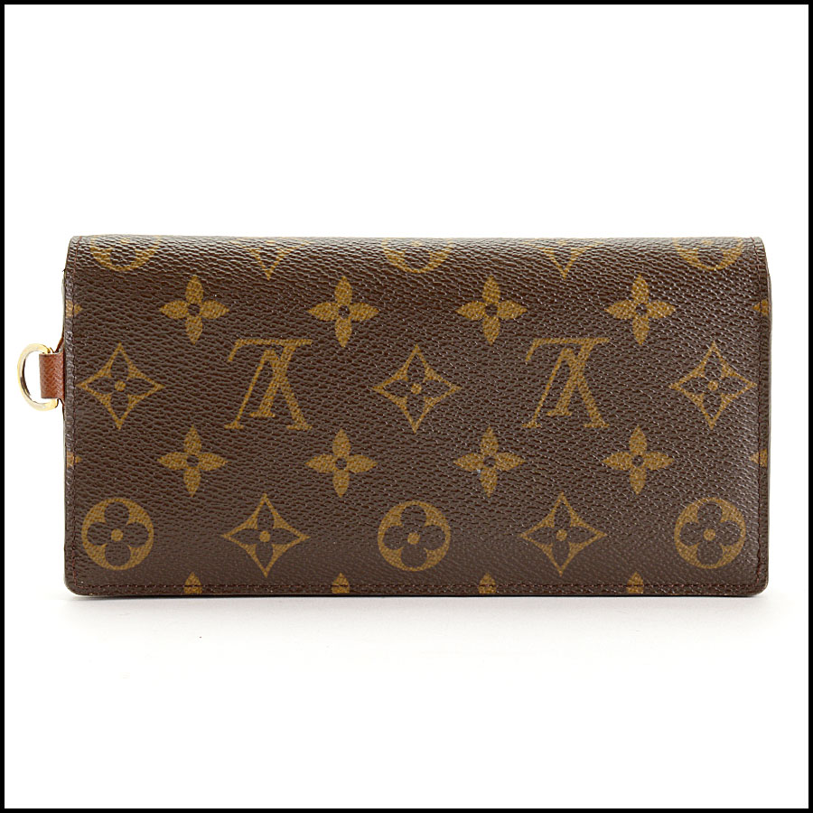 RDC11393 Louis Vuitton Monogram Portefeuille Wallet back