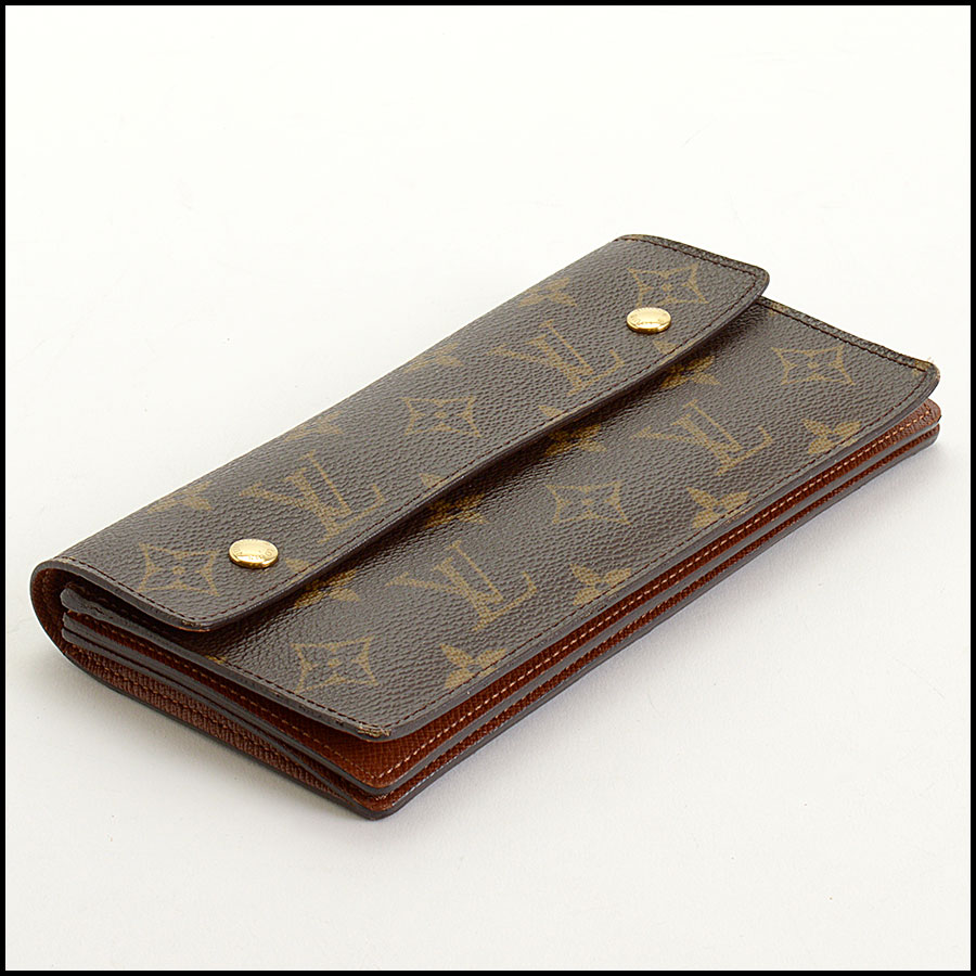 RDC11393 Louis Vuitton Monogram Portefeuille Wallet bottom