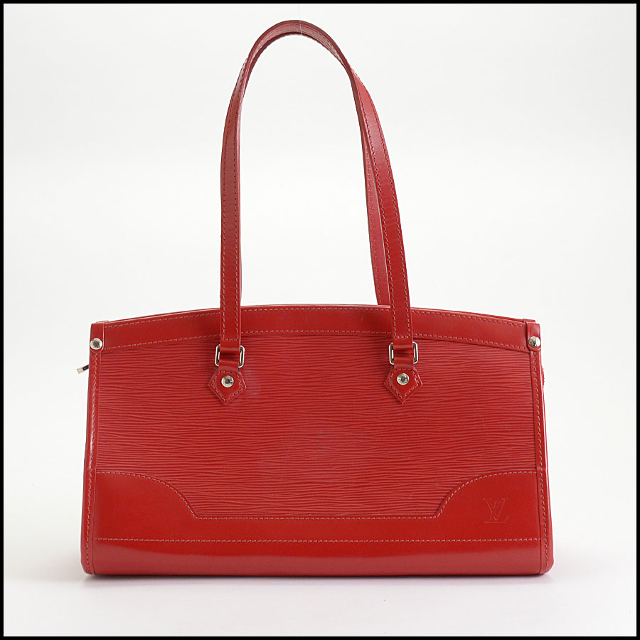 RDC10377 Louis Vuitton Red Epi Leather Madeleine Satchel