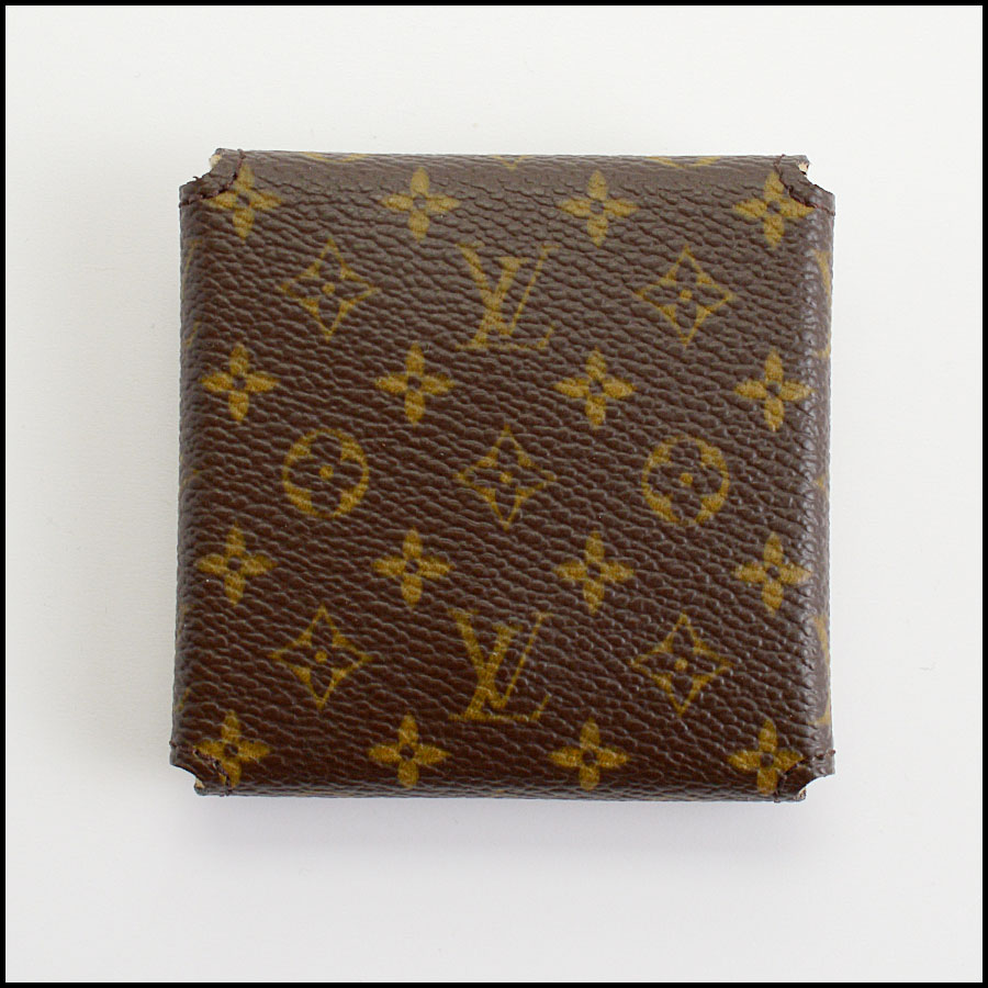 RDC11042 Louis Vuitton Monogram Jewelry/Ring Case back