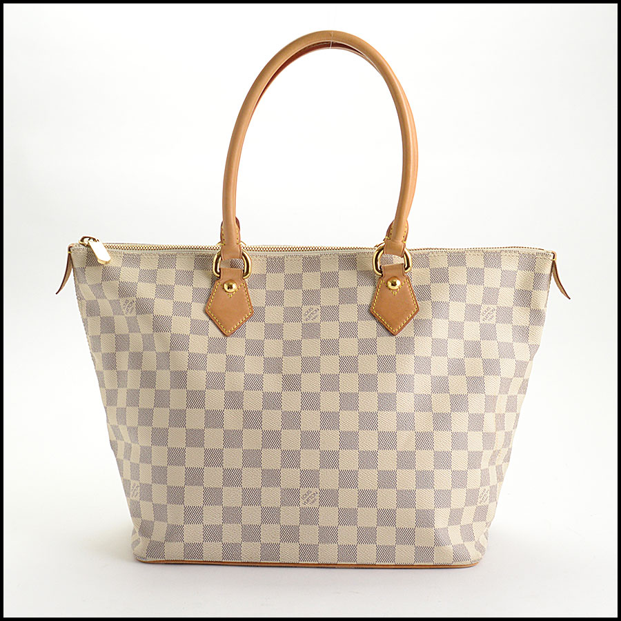 RDC10741 Louis Vuitton Damier Azur Saleya MM Tote