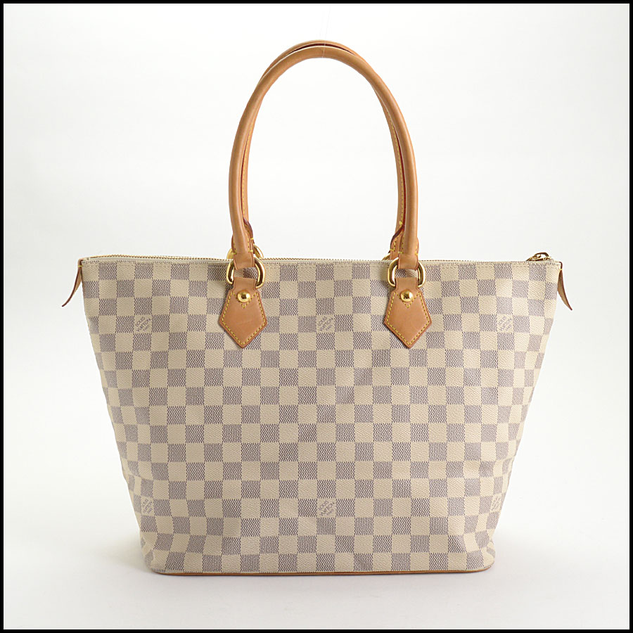 RDC10741 Louis Vuitton Damier Azur Saleya MM Tote back