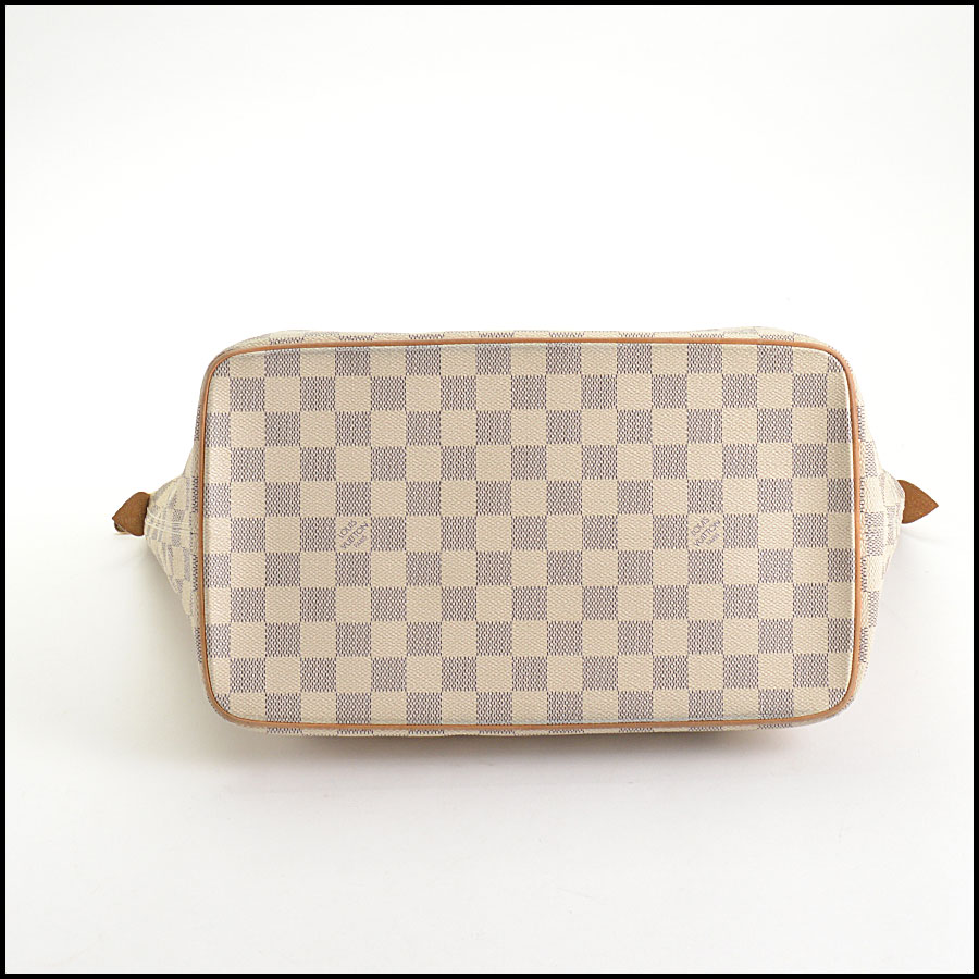 RDC10741 Louis Vuitton Damier Azur Saleya MM Tote bottom