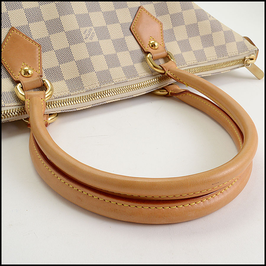 RDC10741 Louis Vuitton Damier Azur Saleya MM Tote handle
