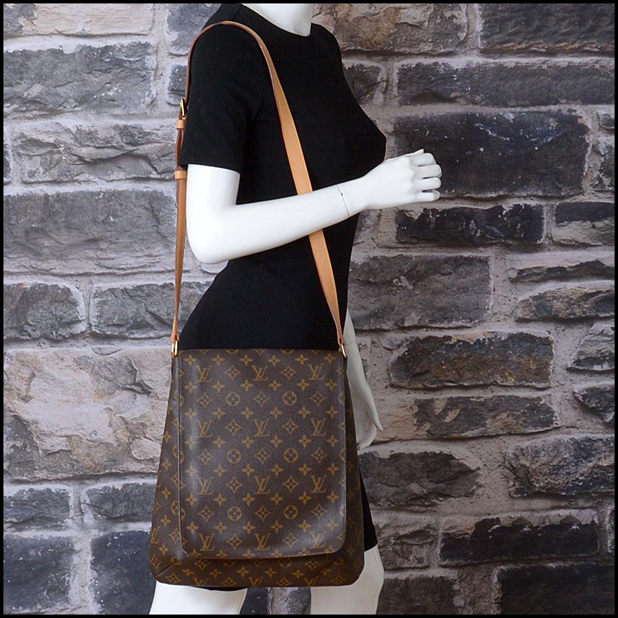 RDC11219 Louis Vuitton Monogram Musette Salsa GM Crossbody model