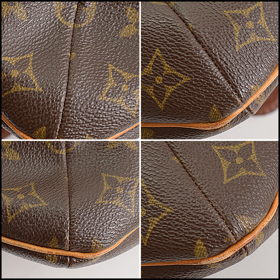 RDC11296 Louis Vuitton Monogram Musette Salsa GM Bag corners