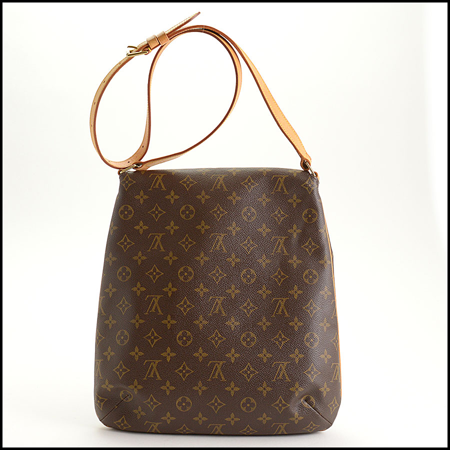 RDC11296 Louis Vuitton Monogram Musette Salsa GM Bag back