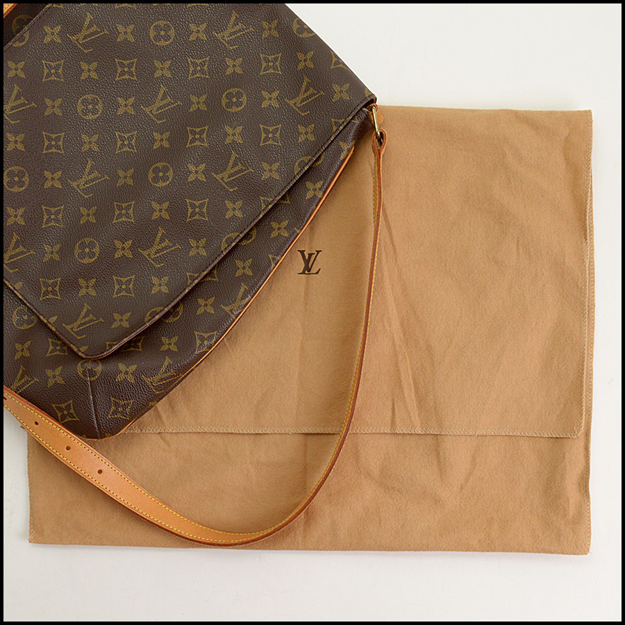 RDC11296 Louis Vuitton Monogram Musette Salsa GM Bag includes