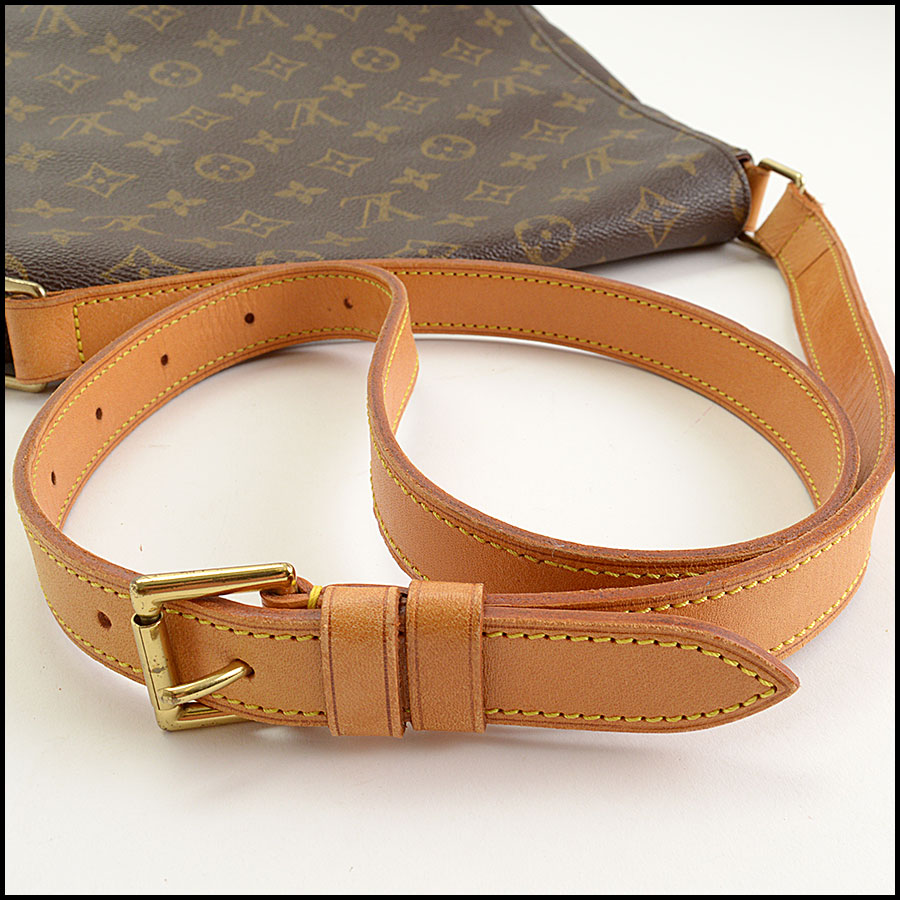 RDC11296 Louis Vuitton Monogram Musette Salsa GM Bag handle