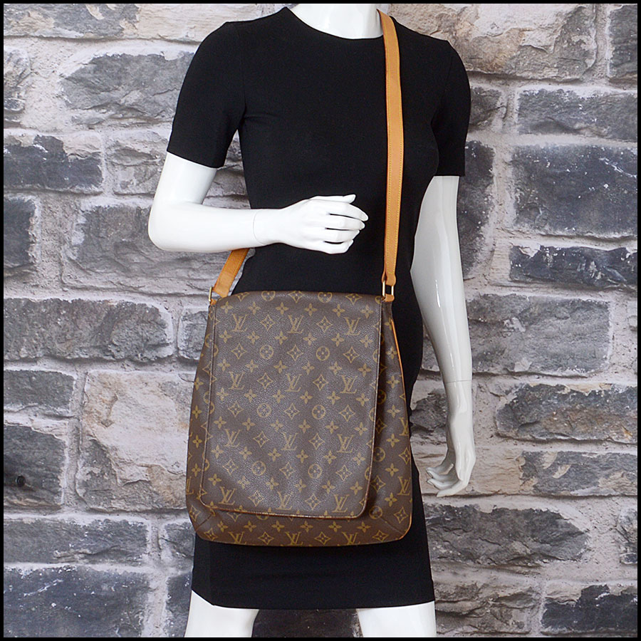 RDC11296 Louis Vuitton Monogram Musette Salsa GM Bag model