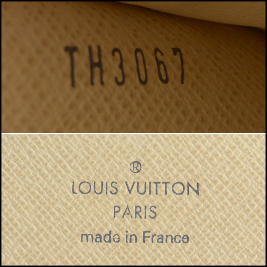 RDC10063 Louis Vuitton Sarah tag