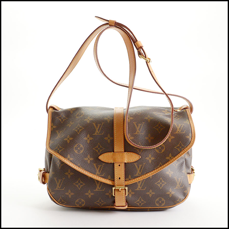 RDC10875 Louis Vuitton 2016 Monogram Saumur MM Crossbody Bag