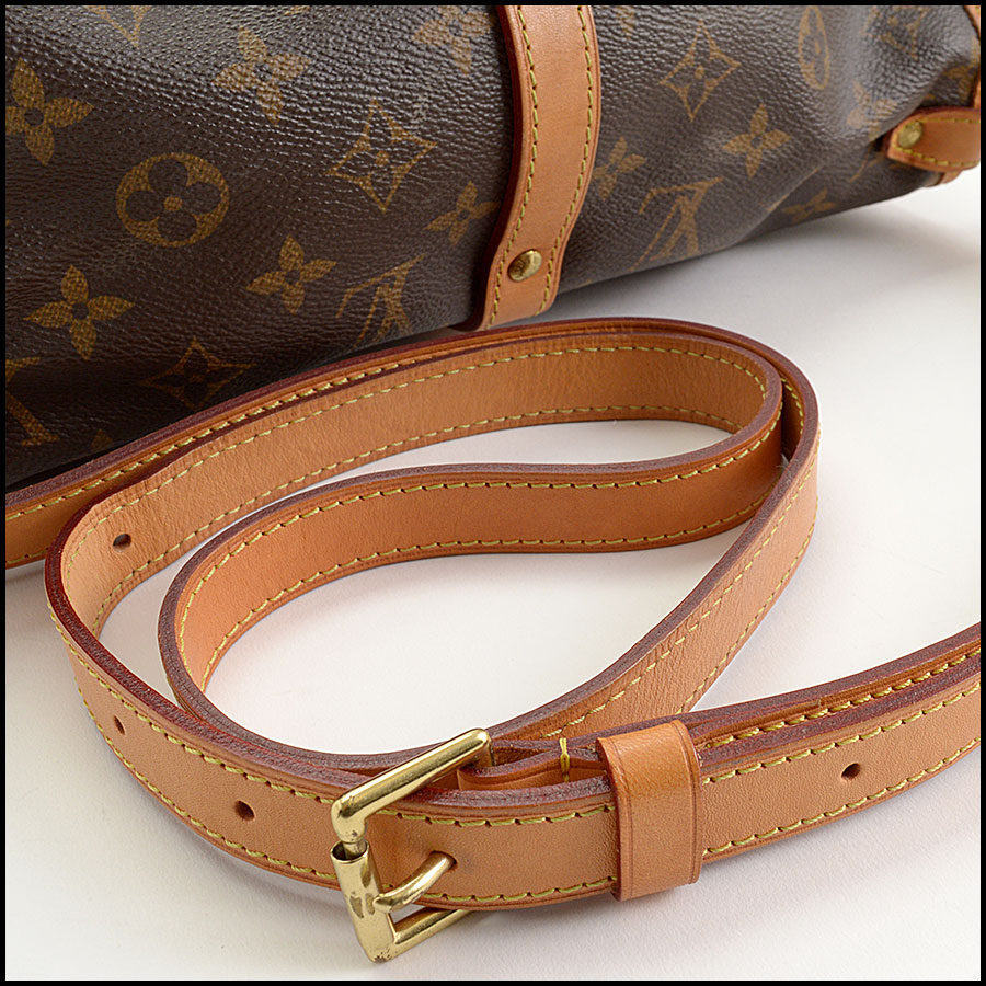 RDC10875 Louis Vuitton 2016 Monogram Saumur MM Crossbody Bag handle