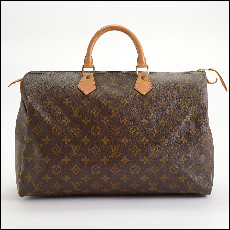 RDC10404 Louis Vuitton LV Monogram Speedy 40 Bag