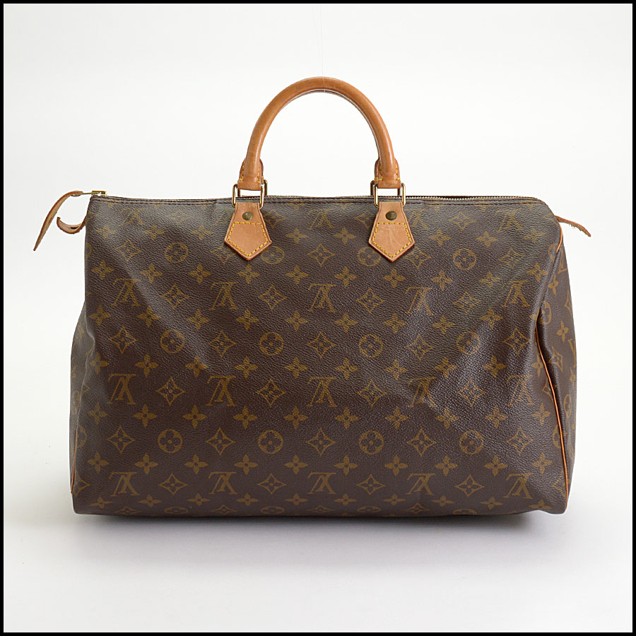 RDC10404 Louis Vuitton LV Monogram Speedy 40 Bag back