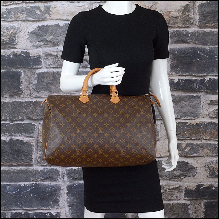 RDC10404 Louis Vuitton LV Monogram Speedy 40 Bag model