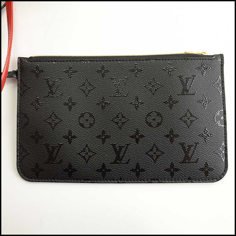 RDC11683 Louis Vuitton Black/Red LV x UF Neverfull Bag includes
