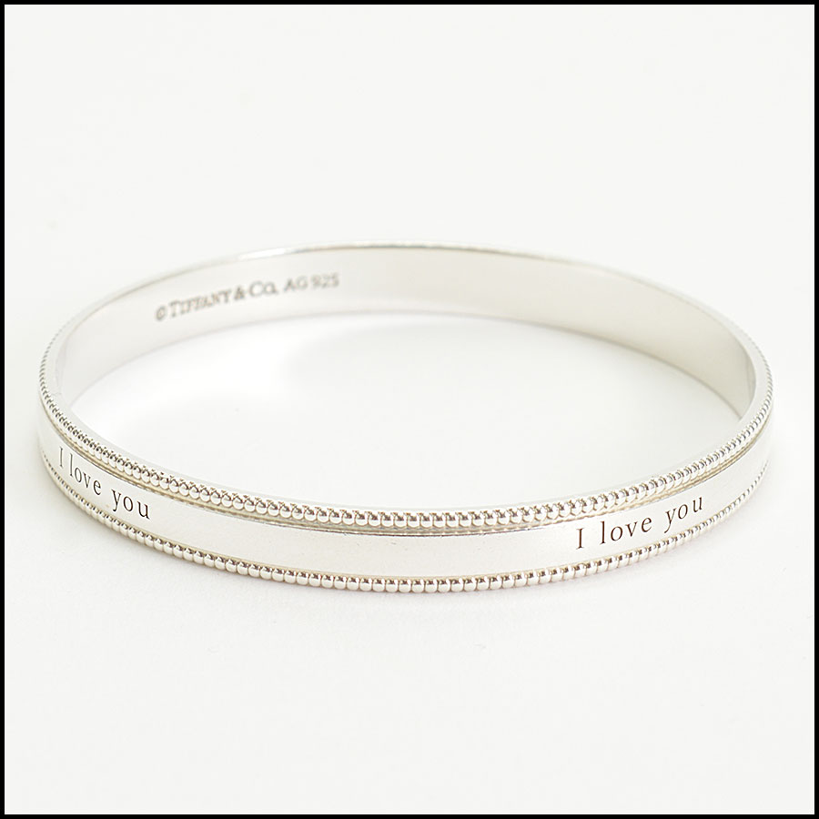 RDC10179 Tiffany & Co. I Love You Bangle side